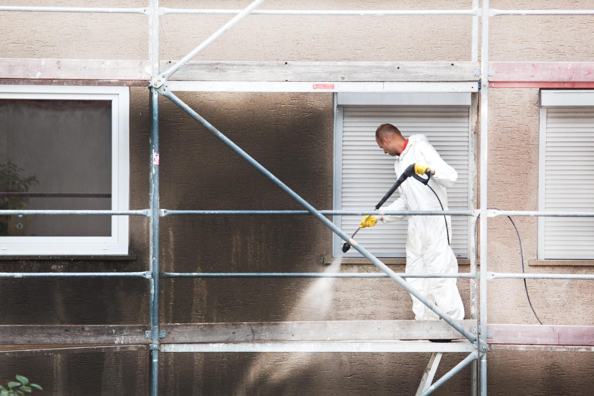 Fassadenreinigung München, Fassadenreinigung